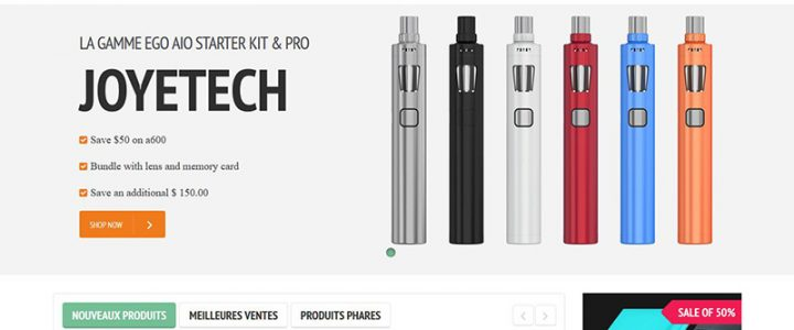 ecigtech – site de cigarette electronique