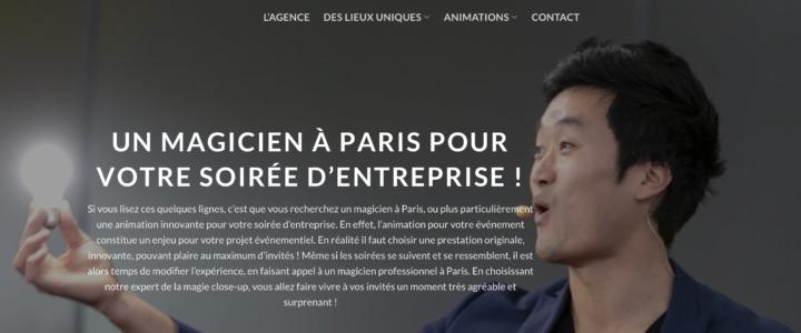 Magicien à Paris – Animation de soirée d'entreprise à Paris