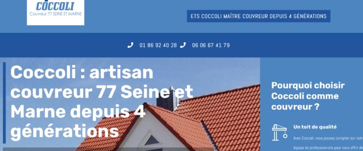Couvreur 77 Seine et Marne : Coccoli artisan